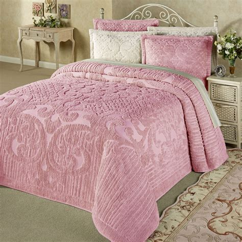 Ashton Lightweight Cotton Chenille Bedspread Bedding