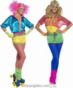 80s clothing neon keep fit The 80 s