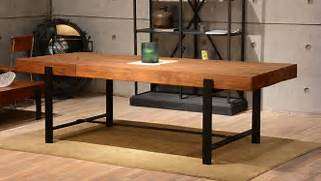 Modern Rustic Wood Dining Table by Industrial Wood Modern Rustic Dining Table Industrial Dining Room