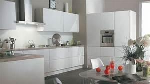 Cuisine Blanche Plan De Travail Bois : carte blanche dans la cuisine ~ Preciouscoupons.com Idées de Décoration