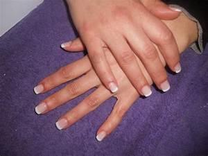 Ongle En Gel Court : french discr te sur ongles courts retouches karima ongles en gel bruxelles ~ Melissatoandfro.com Idées de Décoration