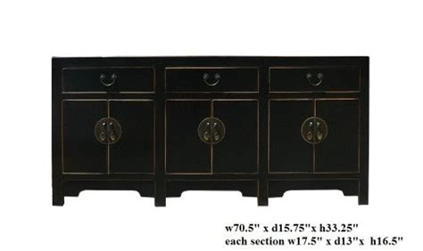 Black Lacquered Sideboard by New Sideboards Black Black Lacquer Moon Console