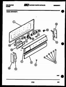 Kelvinator Rep375gd4 Electric Range  5995208674  Parts And Accessories At Partswarehouse