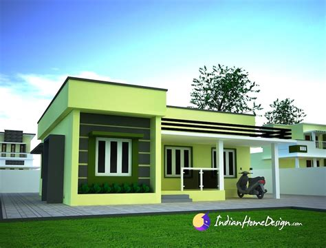 Home Design Gallery Small Single Floor Simple Home Design By Niyas