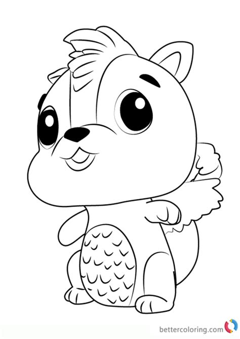 Download and print your free cocomelon activities or free cocomelon coloring pages so you can start having fun right away! Skunkle from Hatchimals Coloring Pages - Free Printable Coloring Pages