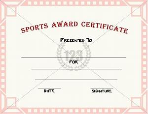 best 20 sports awards ideas on pinterest candy awards With sports certificates templates free download