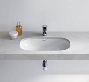 Halbeinbau einbau und unterbaubecken bad und sanitar for Unterbaubecken