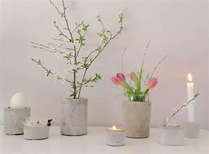 Beton Vase Selber Machen : bastelideen mit beton tipps und tricks zum betongie en ~ Markanthonyermac.com Haus und Dekorationen