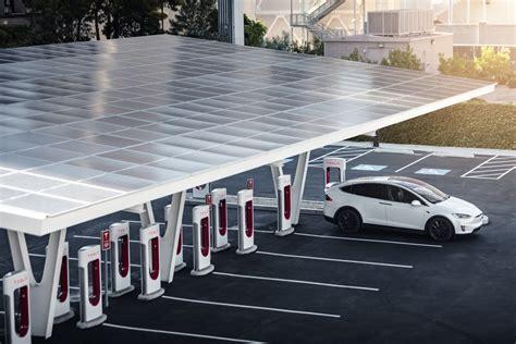Get Tesla 3 Supercharging Setup Images
