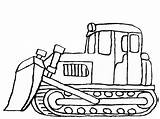 Digger Coloring Excavator Snow Mover Colouring Diggers Drawing Dozer Bulldozer Truck Deere John Template Caterpillar Printable Templates Getcolorings Monster Clipartmag sketch template