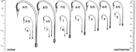 bead setup  bead  hook sizes bc fishing journal