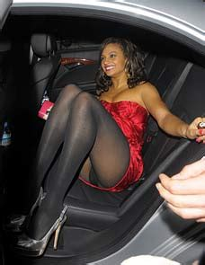 Worse For Wear Bianca Gascoigne Takes A Tumble After She S Refused Entry At A Brits After Party