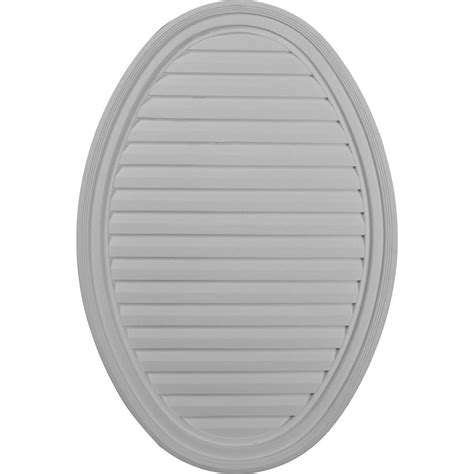 decorative gable vents home depot ekena millwork 2 in x 24 1 2 in x 37 in decorative