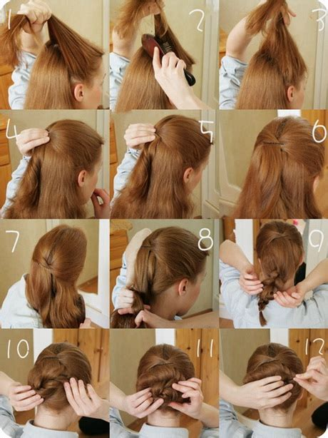 Easy To Do Hairstyles by Easy To Do Hairstyles For Hair