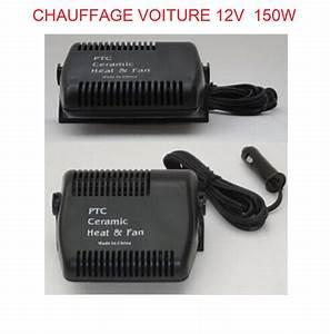 Chauffage Voiture 12v Norauto : chauffage ceramique 150w pour voiture camping car ~ Nature-et-papiers.com Idées de Décoration