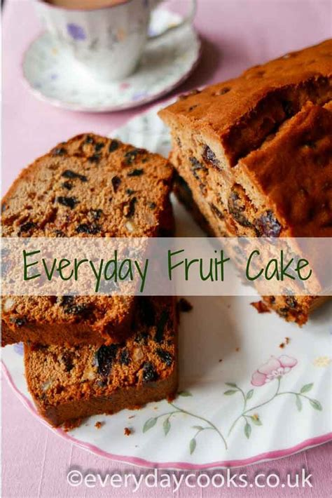 everyday fruit cake recipe recipes moist fruit cake