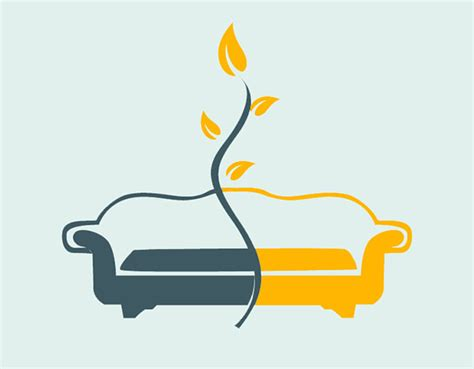 comfortable sofa sets 15 furniture logo designs for inspiration freecreatives