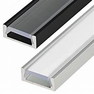Led Strip Profil : low profile surface mount led profile housing for led strip lights anodized aluminum micro alu ~ Buech-reservation.com Haus und Dekorationen