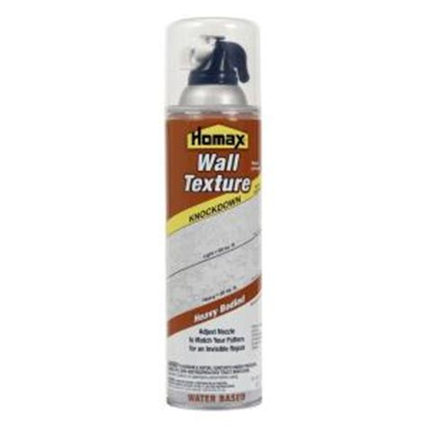 Homax Ceiling Texture Home Depot by Homax 20 Oz Wall Knockdown Water Based Spray Texture 4065