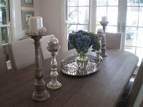 dining table centre displays images  pinterest