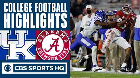 Kentucky vs #1 Alabama Highlights: Crimson Tide rout short ...