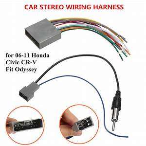 Car Audio Wiring Diagrams Honda Cr V