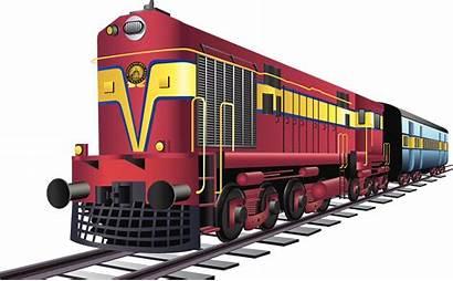 Train Indian Clipart Railway Railways Railroad Tracks
