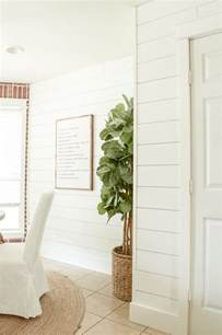 easy bathroom ideas shiplap walls the cheap easy way brick house
