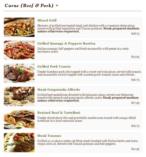 olive garden menu specials auto design tech