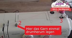 Nähmaschine Unterfaden Aufspulen : so leicht kannst du bei der n hmaschine w6 n 1615 den unterfaden aufspulen n hmaschinen tests ~ Eleganceandgraceweddings.com Haus und Dekorationen
