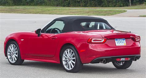 Fiat Reviews Consumer Reports by Drive 2017 Fiat 124 Spider Consumer Reports