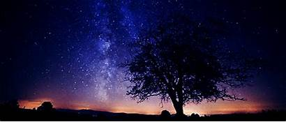 Gifs Peaceful Sky Space Giphy Stars Night