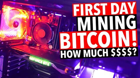 This gpu is great for all demanding 4k gamers and miners. First Day Mining Bitcoin! GTX 1070 GPU - YouTube