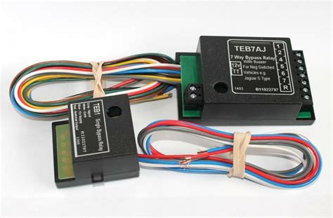 7 way bypass relay towing electrics towbar wiring for jaguar s type ebay