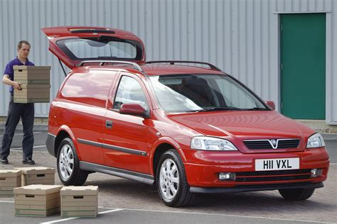 Vauxhall Astra van review (1998-2006)   Parkers