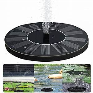Fontaine Solaire Pour Bassin : fontaine solaire pompe de bassin pour xff1b fontaine ~ Dailycaller-alerts.com Idées de Décoration