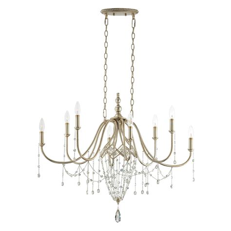 Oval Chandelier by Collana Oval Chandelier By Eurofase 25629 019