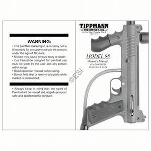 Tippmann Model 98 Gun Manual