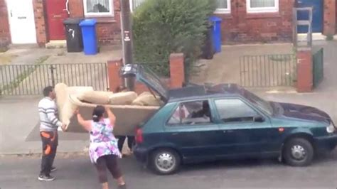 Sofa In Car Fail