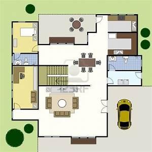 Simple House Floor Plan Design Simple House Floor Plans 3D