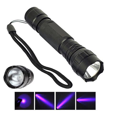 how to make a black light flashlight uv wf 501b led 365nm ultra violet blacklight flashlight