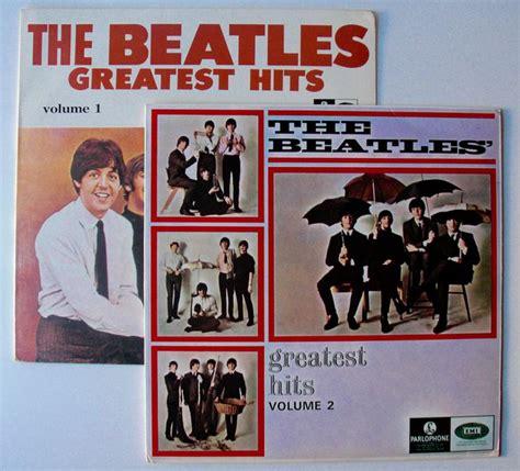 The Beatles Greatest Hits Volume 1 & 2 Rare 1967 Singapore