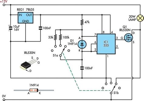 Halogen Dimmer Circuit Diagram