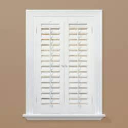 wooden shutters interior home depot shutters made of premium white pine