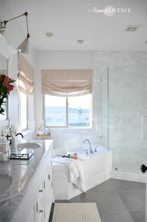 room challenge bright white master bathroom final