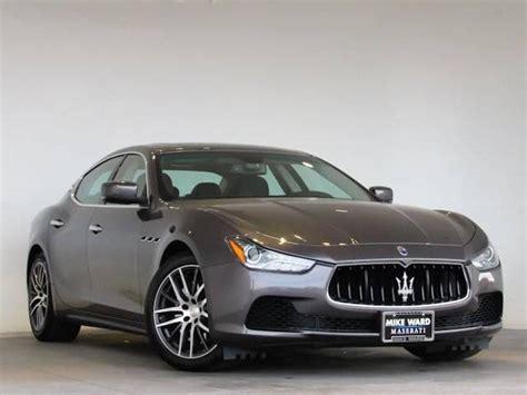 Maserati Ghibli Preowned by 2016 Maserati Ghibli S Q4 Preowned For Sale At Mike Ward