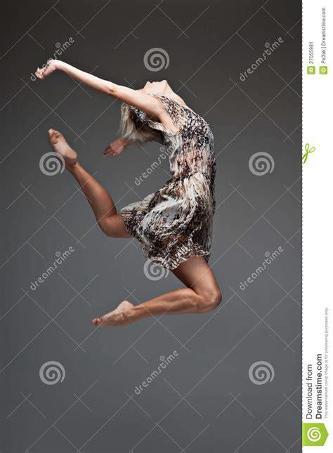 fille de danse moderne de type image stock image 27055981