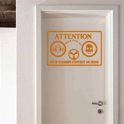 stickers chambre ado gar輟n citation porte 28 images sticker porte citation wer hier pisst und l 228 sst keinen furz stickers citations allemand a de la claquer la porte