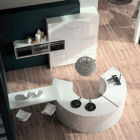cuisine ronde cuisine ronde design alicante 3 haut de gamme sur