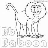 Baboon Chakiradecor sketch template